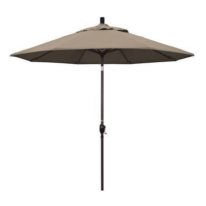 California Umbrella Pacific Trail GSPT908117SA61 Outdoor Umbrella Gray, GSPT908117 SA61