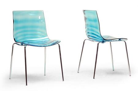 Wholesale Interiors Marisse PC840BLUE Dining Room Chair Blue, PC840BLUE set