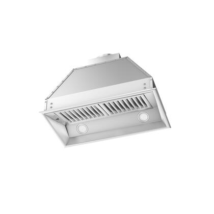 ZLINE 69528 Liners Insert and Blower Stainless Steel, Hood with 2 Lights