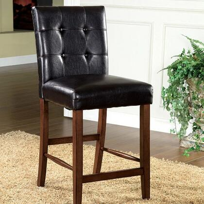 Furniture of America Rockford I CM3867PCCA2PK Bar Stool Brown, Main Image