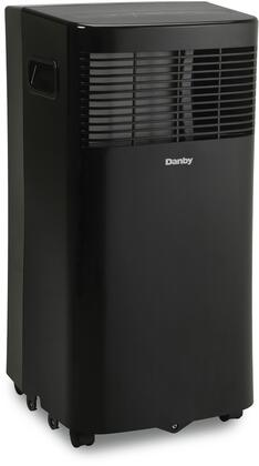 DPA080B7BDB 13″ Portable Air Conditioner with 8000 BTU Cooling Capacity  2 Fan Speeds  Auto Restart and 24 Hour Timer in