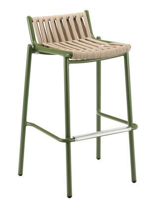 Florida Seating Loop LOOPPB Patio Chair Green, loop barstool