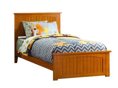 Atlantic Furniture Nantucket AR8216037 Bed Brown, AR8216037 SILO FSB 180