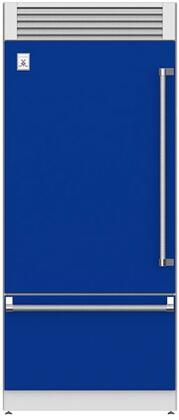 Hestan  KRPL36BU Bottom Freezer Refrigerator Blue, Main Image