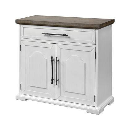 17219 Locksmith 2-Door 1-Drawer Cabinet  in Off-white