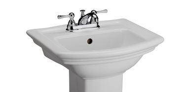 Barclay Washington B3381WH Sink , Faucet Hole Option