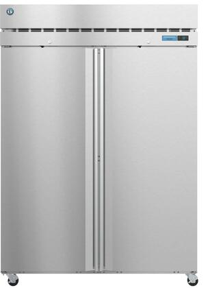 Hoshizaki Steelheart F2AFS Commercial Reach In Freezer Stainless Steel, F2AFS Front View