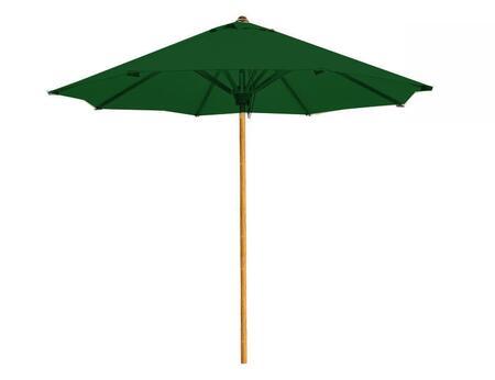 Douglas Nance Atlantic DNUM9RGREEN Outdoor Umbrella Green, DNUM9RGREEN Main Image