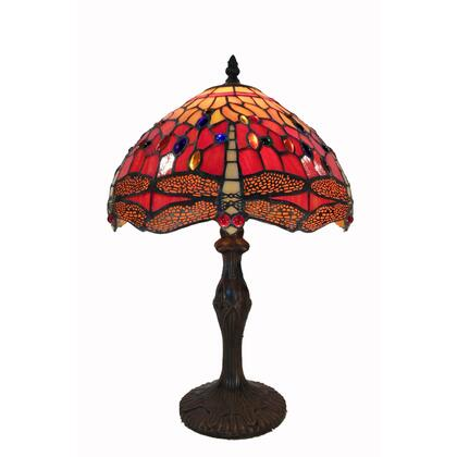 HomeRoots 233730 Table Lamp Red, Main Display