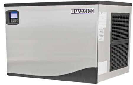 MIM650N 30″ Modular Ice Maker with 650 lbs. Daily Ice Production  Stainless Steel Exterior and Hinged Front Panel in Stainless