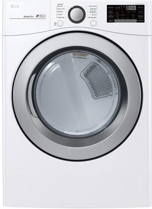 LG  DLG3501W Gas Dryer White, Main Image