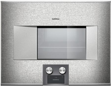 Gaggenau Deals 400 Series BS474611 Single Wall Oven Stainless Steel, Main View