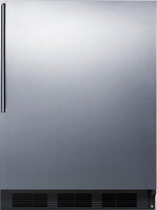 Summit FF6BBISS FF6BBISSHVADA Freezerless Refrigerator Stainless Steel, 1