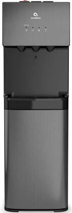 A5BLK 12″ Bottleless Water Dispenser with Hot  Cold and Cool Water  Self Cleaning  Child Safety Lock and Dual Filtration in