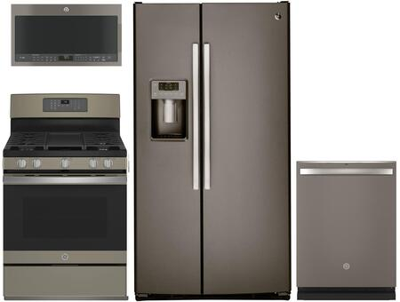 GE 1088783 Kitchen Appliance Package & Bundle Slate, main image