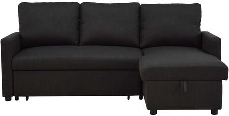 Acme Furniture 52300 Sectional Sofa, 52300 Front