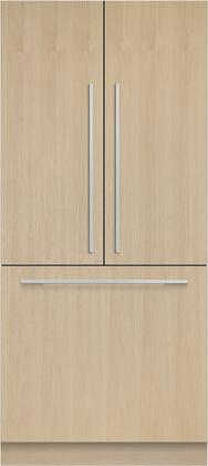 Fisher Paykel RS36A80J1N French Door Refrigerator Panel Ready, Front View, Main Image