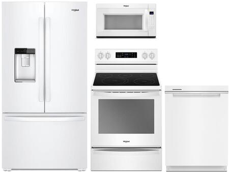 Whirlpool 800064 Kitchen Appliance Package & Bundle White, main image