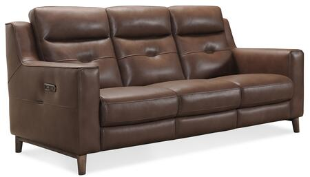 Hooker Furniture MS Series SS613P3084 Motion Sofa Brown, Silo Image