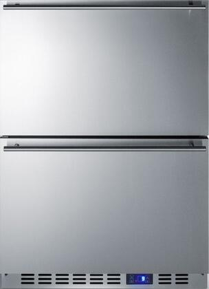 Summit  CL2F249 Drawer Freezer Stainless Steel, Main Image