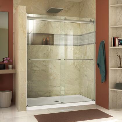DreamLine  SHDR636076004 Shower Door , Essence Shower Door RS46 60 04 B CenterDrain