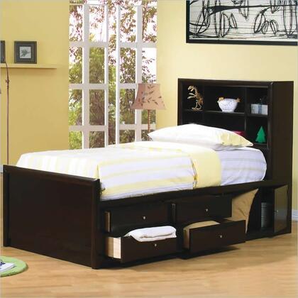 Coaster Phoenix 400180F Bed Brown, 1
