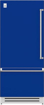 Hestan  KRBL36BU Bottom Freezer Refrigerator Blue, Main Image