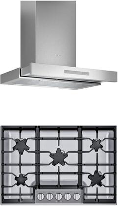 Thermador  1071166 Kitchen Appliance Package Stainless Steel, main image