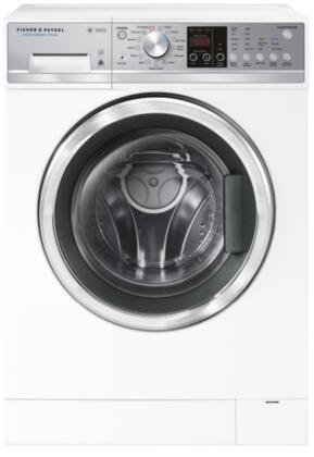 Fisher Paykel  WH2424F1 Washer White, Front Load Steam FabricSmart Washer