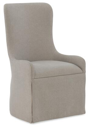 Hooker Furniture Miramar - Aventura 620275500DKW Dining Room Chair Beige, Silo Image