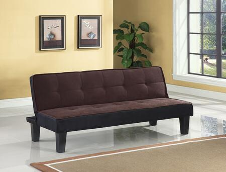 Acme Furniture Hamar 57028 Sofa Bed Brown, Image 1