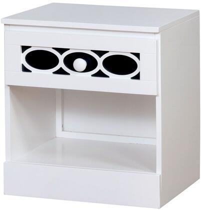 Furniture of America Cammi CM7853BLN Nightstand, 1