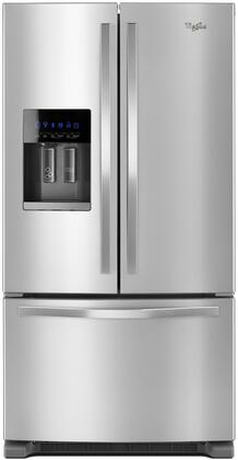 Whirlpool WRF555SDFZ French Door Refrigerator Stainless Steel, Main Image