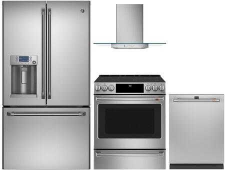 Cafe 1053800 Kitchen Appliance Package & Bundle Stainless Steel, main image