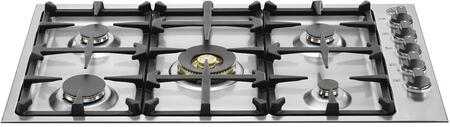 Bertazzoni Master QB36M500XLP Gas Cooktop Stainless Steel, Cooktop