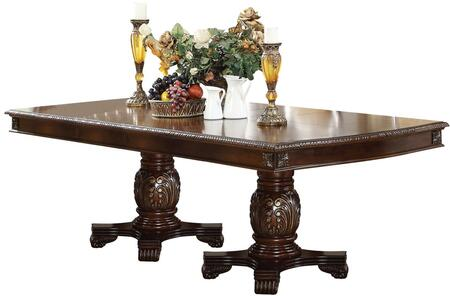 Acme Furniture Chateau de Ville 64075 Dining Room Table Brown, Main Image