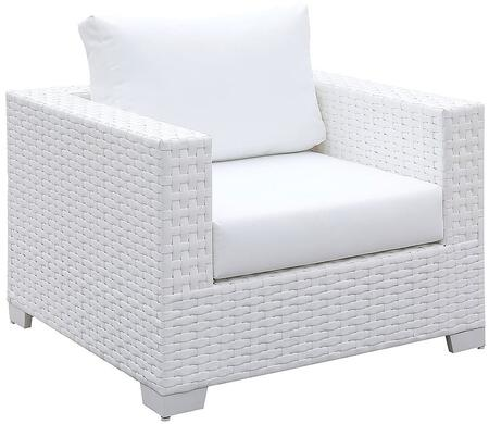 Furniture of America Somani CMOS2128WHI Living Room Chair White, CM OS2128WH I