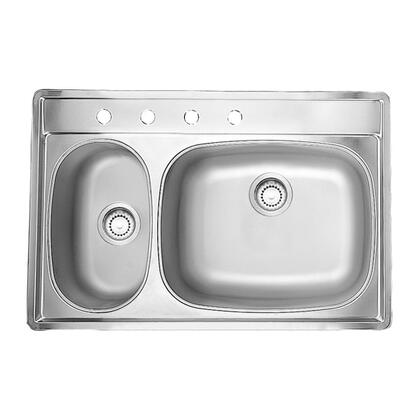 Kindred CL223385K4 Sink Satin Finish, 1