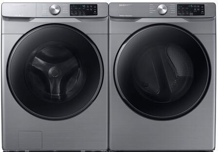 Samsung  1154680 Washer & Dryer Set Platinum, 1