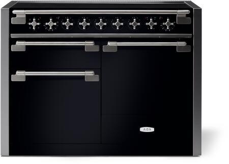 AGA Elise AEL481INBLK Freestanding Electric Range Black, AEL481INBLK Induction Range