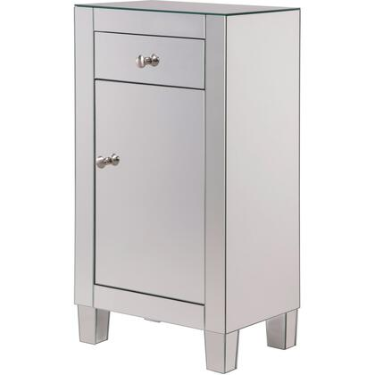 MF6-1035 1 Drawer 1 Door Cabinet 18″ X 12″ X 32″ In Clear