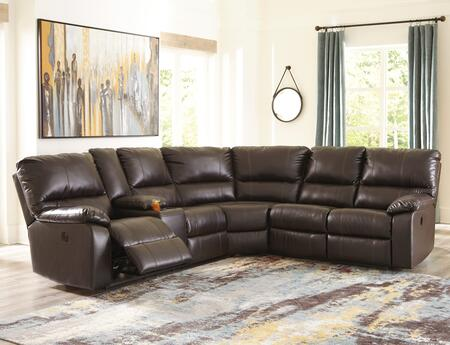 Signature Design by Ashley Warstein 3400X3psec Sectional Sofa, 1