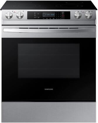 Samsung NE58R9311SS Slide-In Electric Range Stainless Steel, NE58R9311SS Front View