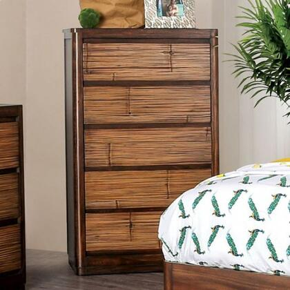 CM7522C Covilha Collection Chest Made From Sturdy Wood Construction In Antique