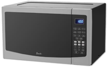 Avanti MT12V3S Countertop Microwave Stainless Steel, Main Image
