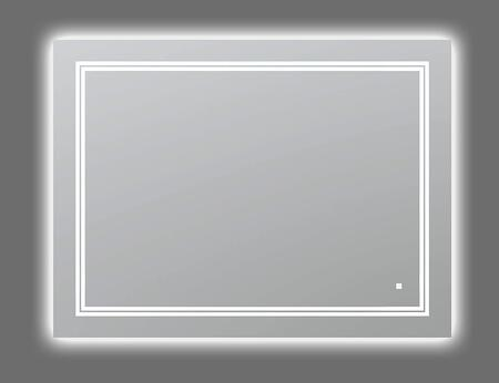 SOHO Collection S-4836 LED Lighted Mirror with Defogger  Dimmer and Light Control Touch Screen Buttons in