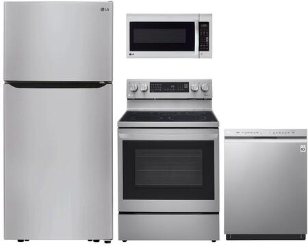 LG  1240360 Kitchen Appliance Package Stainless Steel, Main image