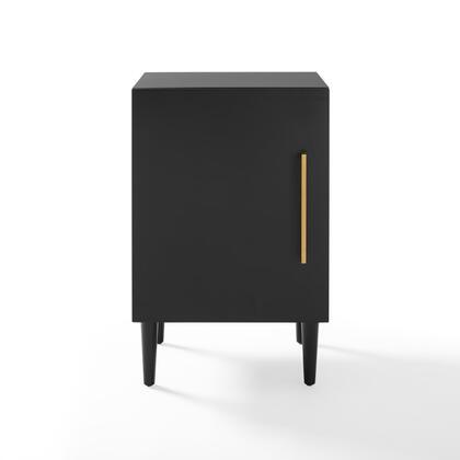 Crosley Furniture Everett CF1104MB End Table Black, CF1104 MB W1