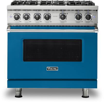 Viking 5 Series VGR5366BAB Freestanding Gas Range Blue, VGR5366BAB Gas Range
