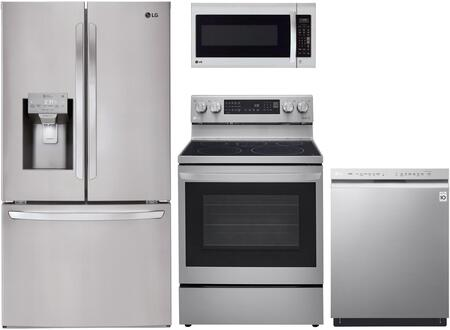 LG  1333040 Kitchen Appliance Package Stainless Steel, main image
